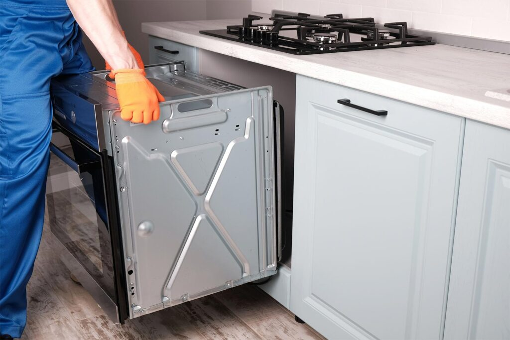Installing An Electric Oven In A Kitchen